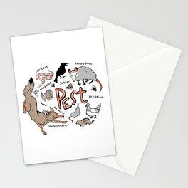 Pest Stationery Cards