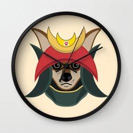 Daimyo Dog Wall Clock