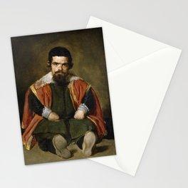 Diego Velázquez - Portrait of Sebastian de Morrá Stationery Cards