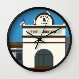 Historic Fire Station Junction Street Wall Clock