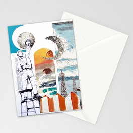 Thinking about color Stationery Cards