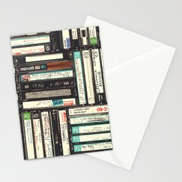 Cassettes Stationery Cards