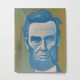 Blue Lincoln Metal Print