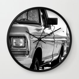 I Side With The Truck Wall Clock