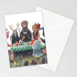 The Art of ruining conversation at dinner parties Stationery Cards