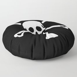 Emanuel Wynne Pirate Flag Jolly Roger Floor Pillow