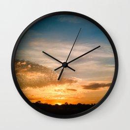Where the sun rises Wall Clock