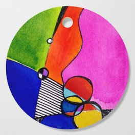 Magical Thinking 7A1 by Kathy Morton Stanion Cutting Board
