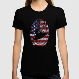 Jet Ski USA Fingerprint T-shirt