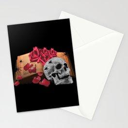 Book Gothic, Skull, Gothic, Gothic Lover Stationery Cards