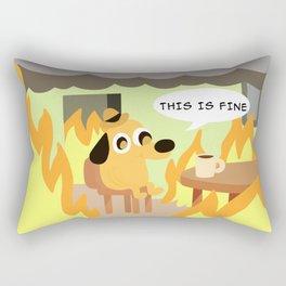 this is fine Rectangular Pillow