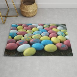 Colorful Candy Eggs Rug