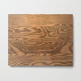 Wood, heavily grained wood grain Metal Print