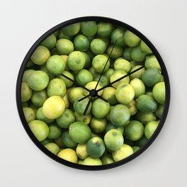 Limes 2 Wall Clock