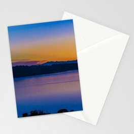 Fjord and Mountains Landscape, Chiloe Island, Chile Stationery Cards
