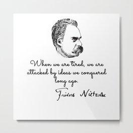 Nietzschean Metal Print