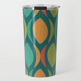 Sea Grass & Beach Pebbles (pattern) Travel Mug
