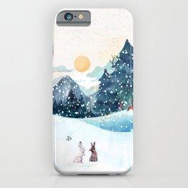 Happy Litlle Wildlife iPhone Case