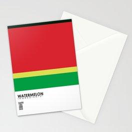 Pantone Fruit - Watermelon Stationery Cards