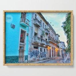 Havana Streets 2 Serving Tray