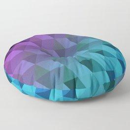 Flight of the Triangles Floor Pillow