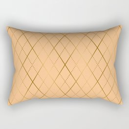 Argyle (Sand) Rectangular Pillow