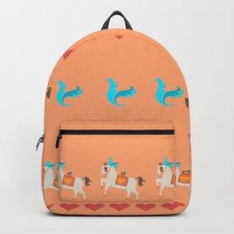 GENTLE  HORSE AND FELLOW BIRD Backpack