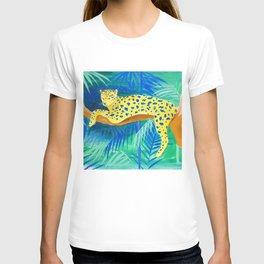 Leopard on Tree T-shirt