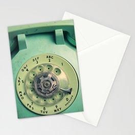 Rotary Telephone Stationery Cards