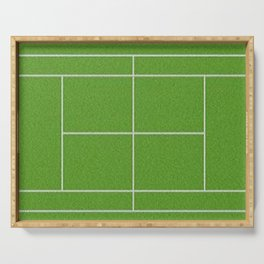 Tennis Court Serving Tray