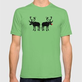 Angry Animals: Rudolph & Prancer T-shirt