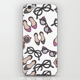 Ladies, ladies shoes and more shoes iPhone Skin