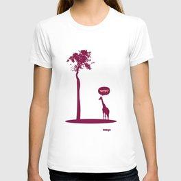 WTF? Jirafa bis! T-shirt