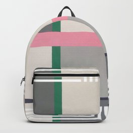 Geen line - white graphic Backpack