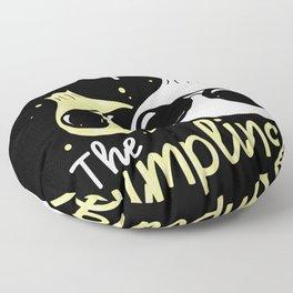 Cool Dumpling Shirt Motif Floor Pillow