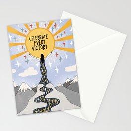 Celebrate every victory Stationery Cards