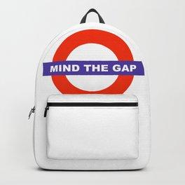 Mind The Gap Logo Backpack