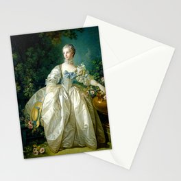 "François Boucher ""Madame Bergeret"" Stationery Cards"