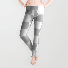Checkered (Gray & White Pattern) Leggings