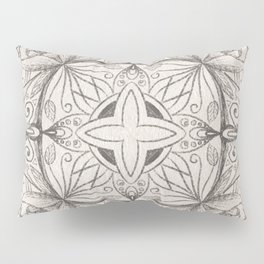 Floral Injection  Pillow Sham