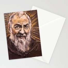 Padre Pio de Pietrelcina Stationery Cards