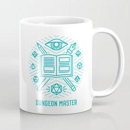 Dungeon Master Emblem Coffee Mug