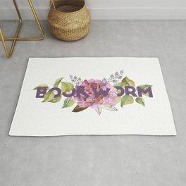 Floral BOOKWORM Rug