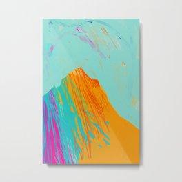 Beyond The Mountain Metal Print