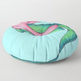 Plesiopiggy Floor Pillow