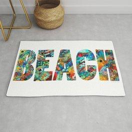 Beach Art - Beachy Keen - By Sharon Cummings Rug