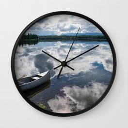 Tranquility At Its Best - Alaska Wall Clock