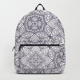 Abstract Vintage Floral V12 Backpack