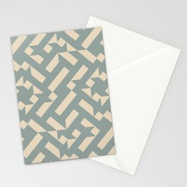 Vanilla Tiles Stationery Cards