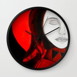 Luna's Redemption Wall Clock